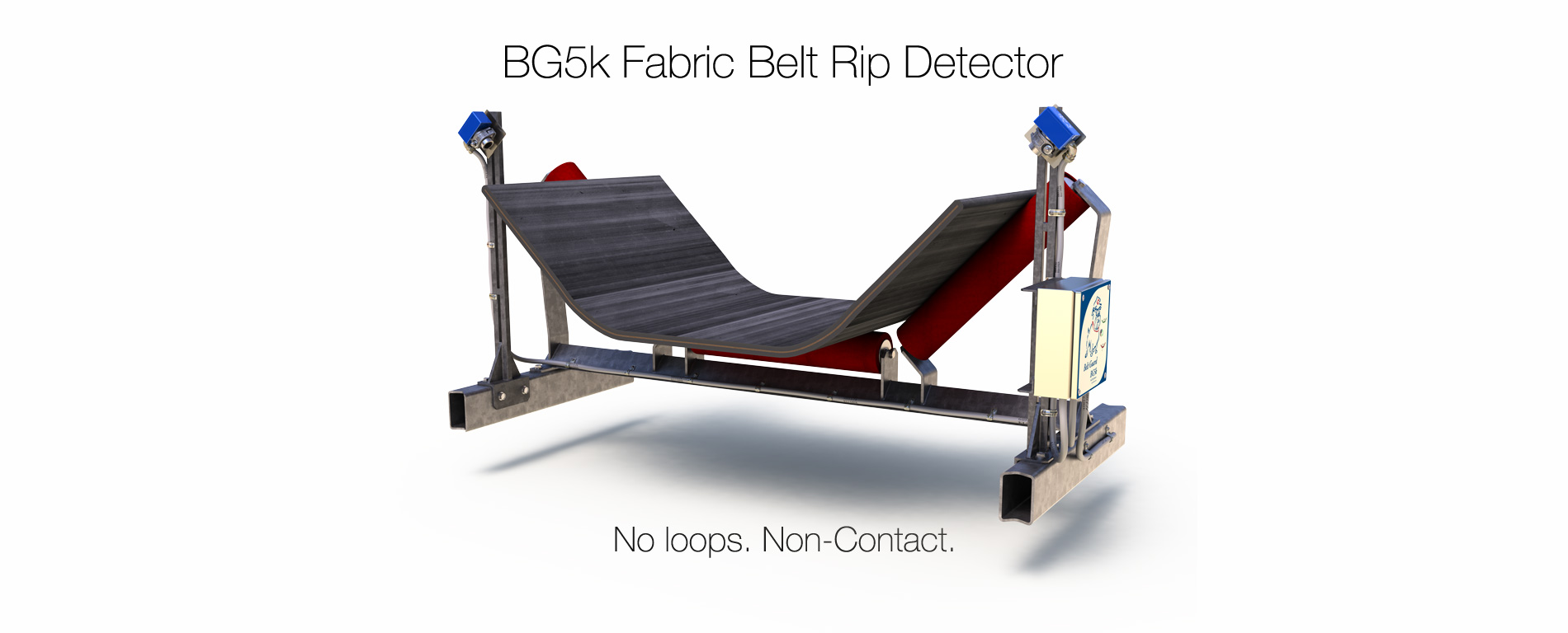 BG5k Fabric Belt Rip Detector